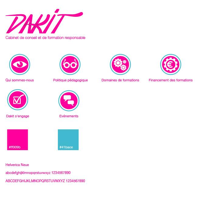 logo charte graphique graphic design