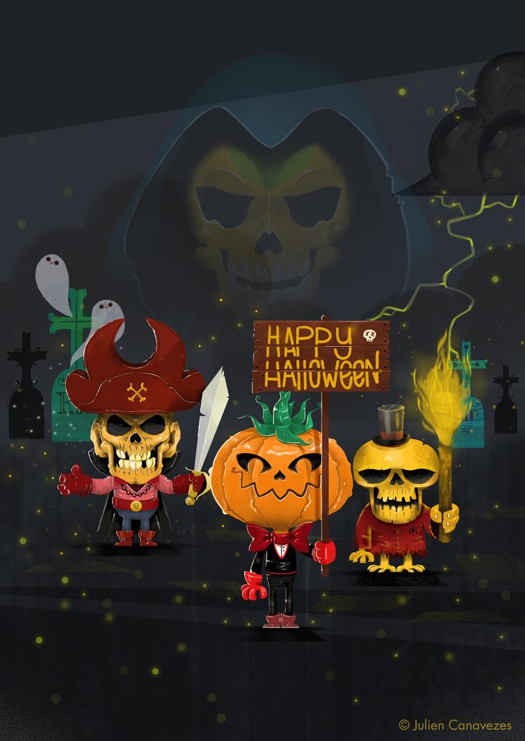 dessin halloween
