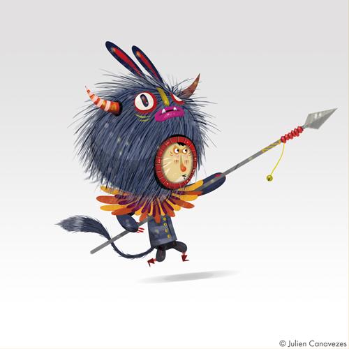 chasseur de monstre, histoire pour enfants