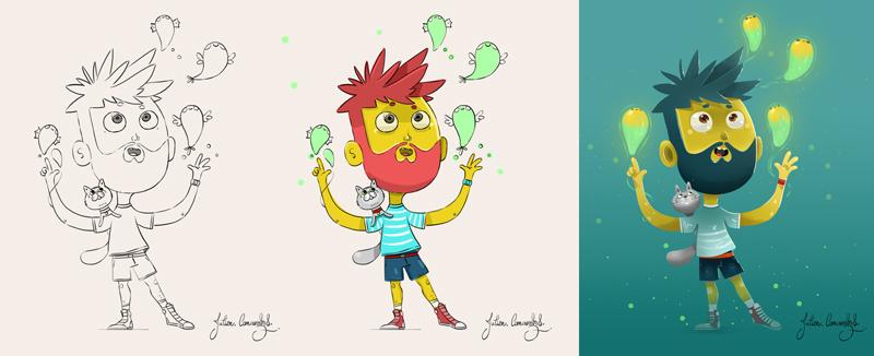 illustrateur jeunesse