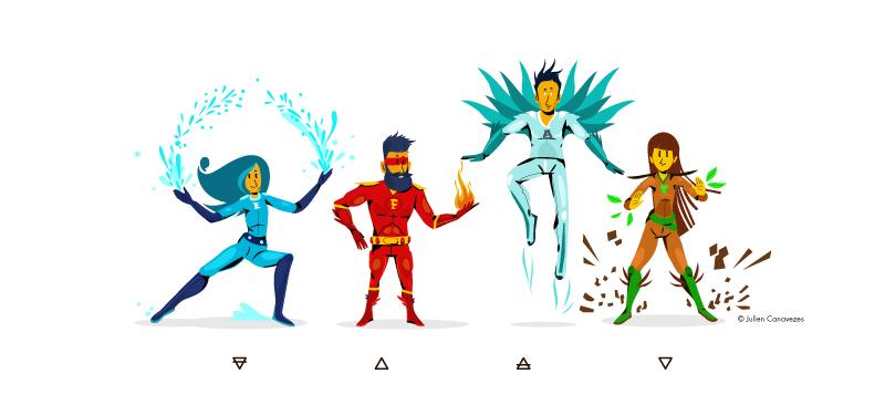 character super-hero