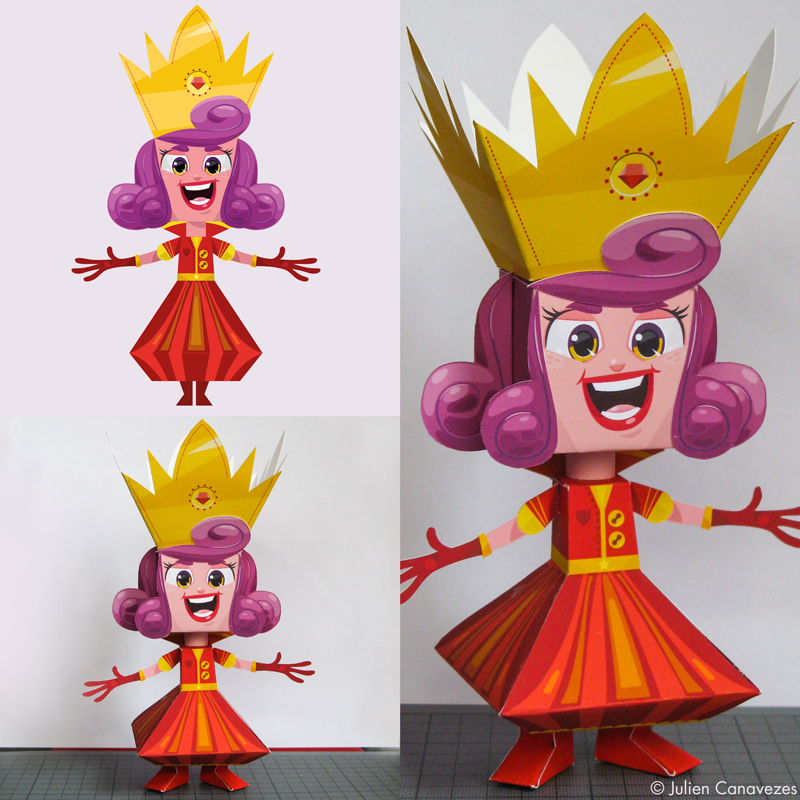 paper toys princesse