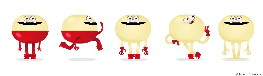 création de mascotte
