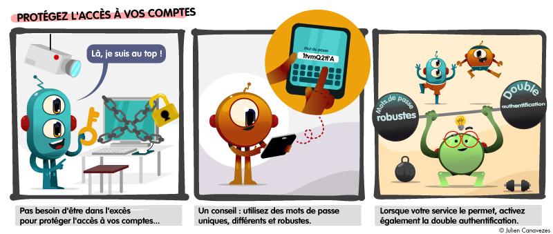 illustration et dessin sur les virus informatique