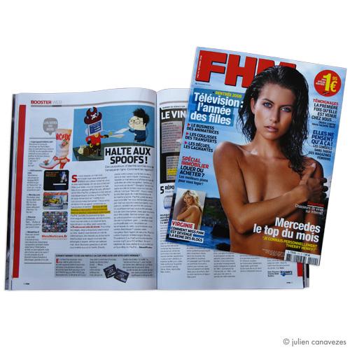 magazine FHM