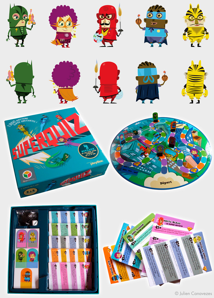 illustrateur de jeu de societe