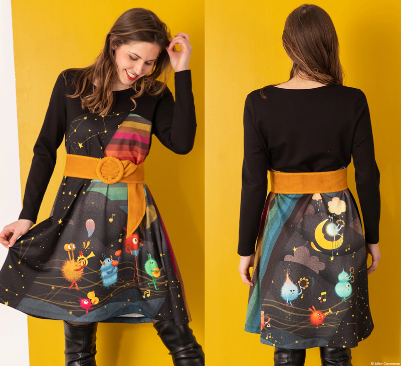 illustrator anatopik fashion woman