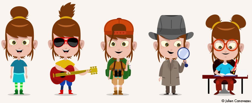 graphiste jeunesse pour enfants