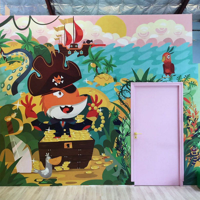 illustration decoration for kids and youth