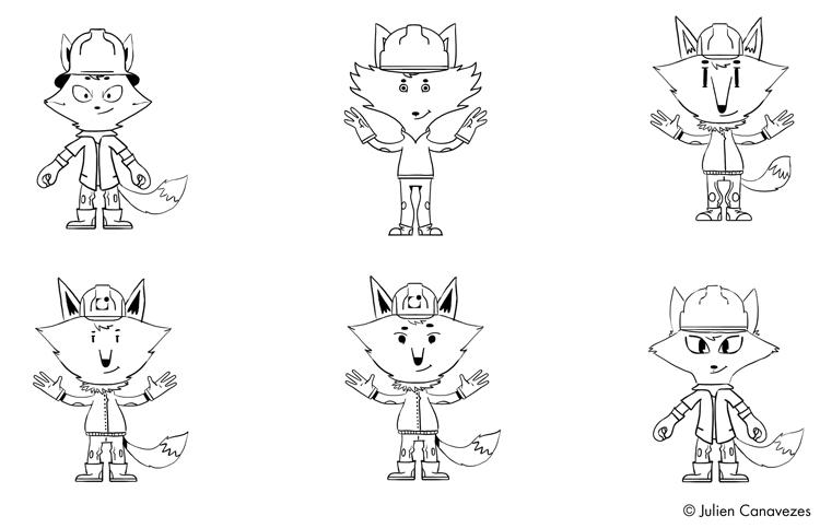 dessin de mascotte qualiconsult