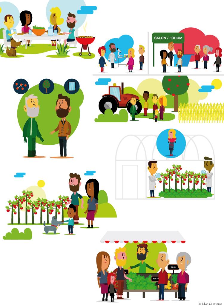 illustration sur la recherche agroalimentaire