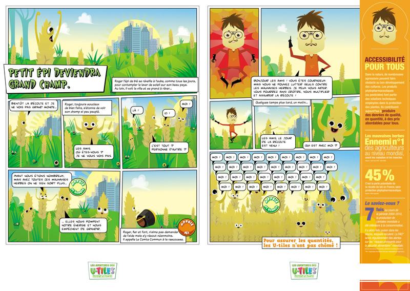 organic farming illustration