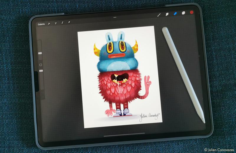 illustrateur ipad procreat