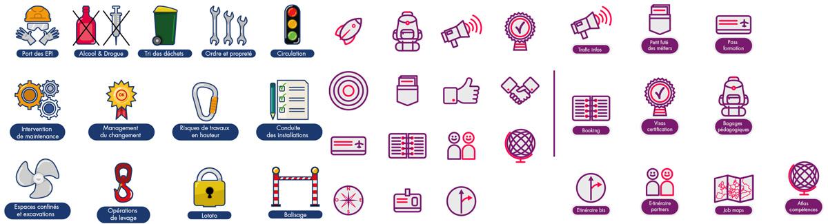 pictogramme graphic designer illustrator