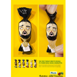 Illustrateur packaging pour la publicité de Ricola