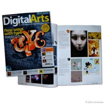 Magazine d'illustration Digital Arts