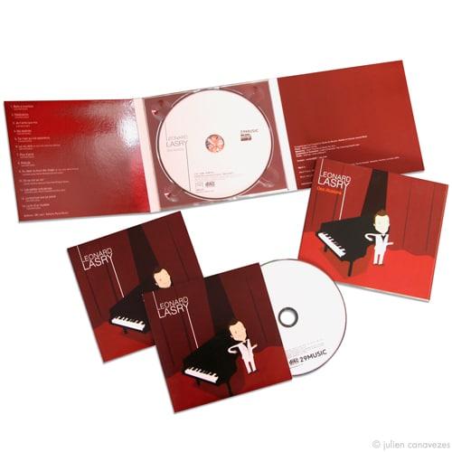 Graphisme pochette CD