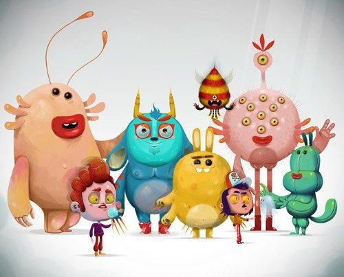 Famille de monstre : mascotte