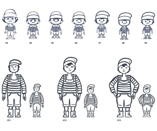 Mascotte animée le petit marseillais