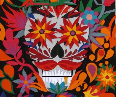 Halloween et Mexican Skull