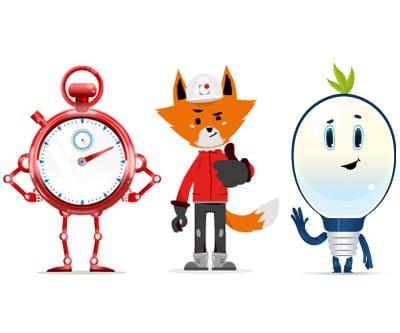 graphiste illustrateur de personnage mascotte