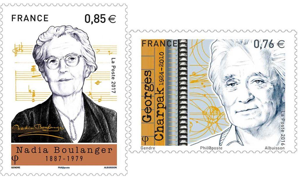 illustratrice de timbre poste