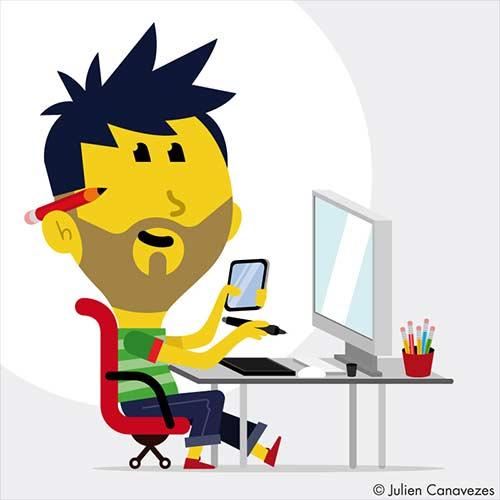 recherche graphiste illustrateur