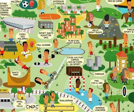Ville verte et durable et ville sport et loisir