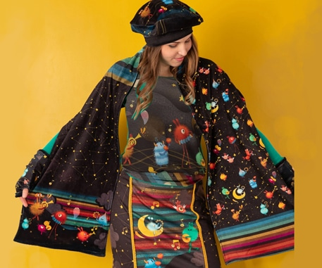 Illustration mode et textile